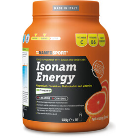 NAMEDSPORT Isonam Energy Drink 480g, Orange